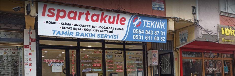 ISPARTAKULE TEKNİK SERVİS